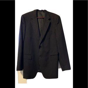 Dolce & Gabbana Blue  Pinstripe Sport Jacket 48R